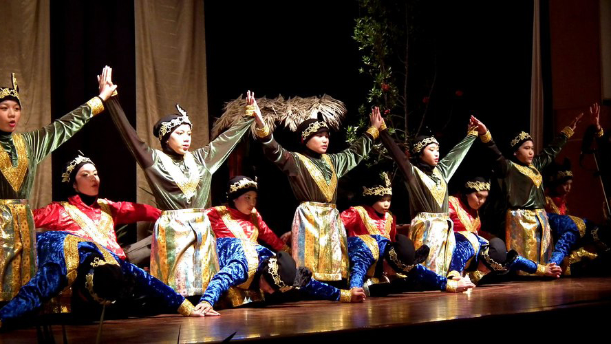 "Saman originated from Gayo ethnic group in Aceh and characterized by harmonious, fast-paced rhythmic movements shown by the dancers. This dance is performed without any accompanying music. Instead, the dancers sing songs while performing. In November 2011, ""the dance of a thousand hands"" was recognized as a Masterpiece of Oral and Intangible Heritage of Humanity by Unesco and the Asean Tourism Association (ASEANTA) named it as the best Asean cultural preservation effort at the 25th ASEANTA Awards for Excellence 2012."